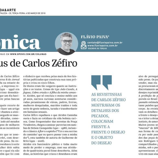 Olhos nus de Carlos Zéfiro