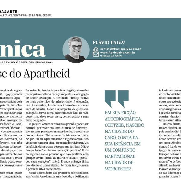 Na gênese do Apartheid