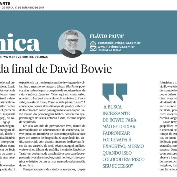 O juízo nada final de David Bowie