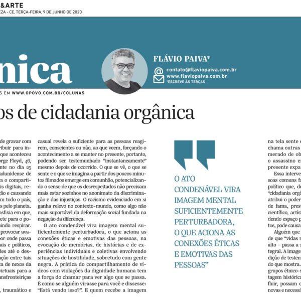 Microfeitos de cidadania orgânica