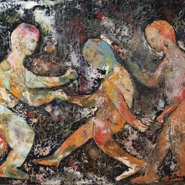 João Alberto em pintura do Estrigas
