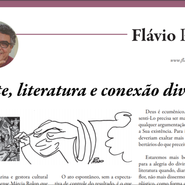 Arte, literatura e conexão divina